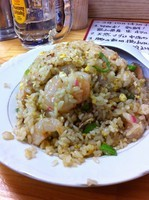 「エビチャーハン」@九州大分ラーメン 麺恋亭 中華街店の写真