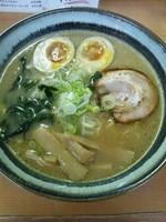 「ラーメン(味玉トッピング)」@麺屋 ささきの写真