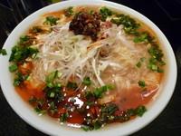 「酸辣烩麺(サンラーホイメン)(¥800+麺大盛り¥150)」@ちー坊のタンタン麺 阿波座店の写真