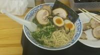 「豚骨醤油ラーメン(チャーシュー増し)」@麺房 松の写真