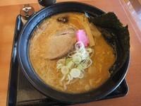 「味噌ラーメン500円(ランチタイム割引)」@湯処 花ゆづき お食事処 和の写真