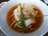 「カツオ 醤油 (¥700)」@手打ち麺 やす田の写真