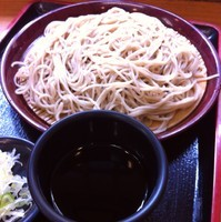 「もりそば(¥280)」@どん八食堂の写真