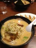 「おやじ麺セット」@ラーメンおやじ 本店の写真