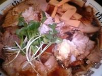 「肉そば」@New Old Style 肉そばけいすけの写真