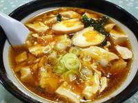 「トーフラーメン+味玉(580円)」@レストラン大手門の写真