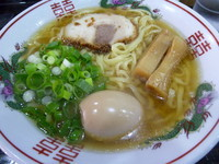「金醤油&太麺(+煮玉子・麺大盛り)(¥650+50+100)」@金久右衛門 鴻池店の写真