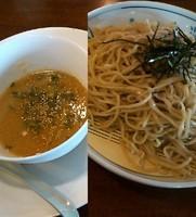 「【冷】 冷しみそつけ麺 (大盛)」@おおぎやラーメン 上田店の写真