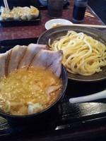 「大判チャーシューつけめん 1030円」@三ツ矢堂製麺 長野東和田店の写真