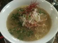 「塩らぁ麺+ミニライス(750円+0円)」@ちゃぶ屋 本店の写真