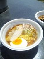 「Roast煮干しQuartet 500円 (阿吽)」@ラーメンフェスタin小布施の写真