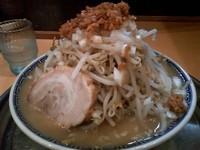 「角ふじ麺 750円(並み、アブラ無し)」@常勝軒 本庄店の写真