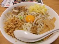 「まぜそばストロングテイスト」@景勝軒 西片貝店の写真