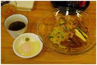 「にぼざるつけ麺」@長尾中華そば 青森駅前店の写真