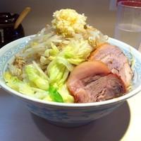「らーめん(¥680)」@らーめん 陸 尾山台店の写真
