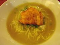 「軍鶏水炊きらーめん」@鳥料理 有明の写真