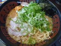 「ごま味噌ラーメン おさえ (¥750)(大盛り無料サービス)」@希望軒 西宮店の写真