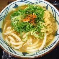 「カレーうどん380円+ライス120円」@丸亀製麺 新宿三丁目店の写真