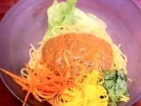 「汁なし坦々麺¥750」@中国菜館 華蓮の写真