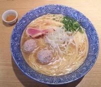 「【限定】 Rising 二ボやん AYU(中盛):830円」@麺屋 一燈の写真