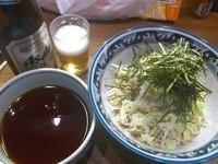 「※ぶっかけ(仮称)+ビール2本」@ラーメンアキラの写真