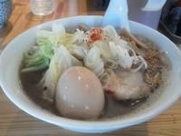 「ニュー焦がし醤油¥700+味玉¥70」@麺や のかぜの写真