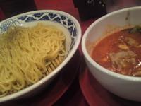 「トマトつけ麺 (1玉) 780円」@九州らーめん 亀王 西中島店の写真
