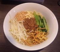 「汁無し担々麺:880円」@自家製麺 ほうきぼし 志茂店の写真