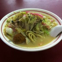 「什景湯麺(上ちゃんぽん)1050」@江山楼 中華街本店の写真