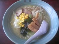 「野菜入り塩ラーメン 530円」@富公の写真