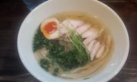 「軍鶏塩らーめん」@麺や 蒼 AOIの写真