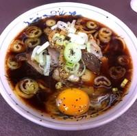 「中華そば小(¥700)+生卵(¥50)」@西町大喜 西町本店の写真