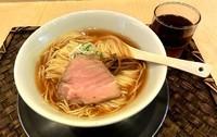 「醤油ラーメン(小670円)」@麺や 七彩の写真