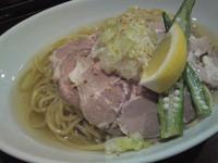 「ヒヤシオ 並 750円 (+ガリレア 200円)」@麺舎 ヒゲイヌの写真