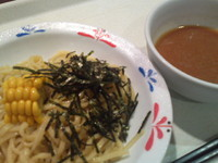「冷やしつけ麺 390円」@長崎ちゃんぽん リンガーハット イオン伊丹昆陽店の写真