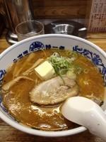 「バターラーメンみそ650」@北海道ラーメン 特一番 三鷹店の写真