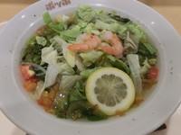 「エビと野菜の塩たんめん(450円)」@ポッポ 大森店の写真