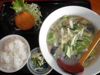 「日替わりランチA 500円」@花華の写真