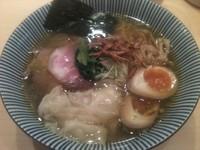 「特製塩そば・細麺(980円)」@饗 くろ㐂の写真