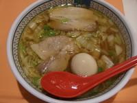 「煮玉子ラーメン」@神座 イオン久御山店の写真