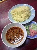 「食ベル旨辛ラー油つけ麺600円」@玉屋の写真