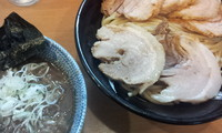 「つけ麺チャーシュー」@中華蕎麦 とみ田の写真