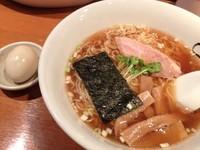 「らーめん(しょうゆ)+味つけ玉子」@子竜の写真