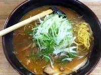 「越後(辛味噌)+野菜大盛」@らーめん信玄 南6条店の写真