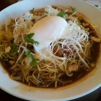 「【冷】 四川式汁なし担々麺」@バーミヤン 茅野店の写真