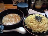「つけ麺大盛(650円+200円)」@じれっ亭 あざみ野店の写真