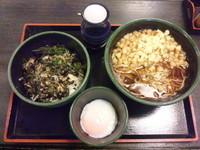 「朝定食(上卵かけごはん)340円」@ゆで太郎 習志野大久保店の写真