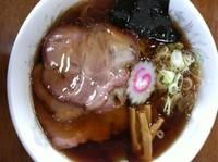 「チャーシューメン 850円」@自家製手打ち白河ラーメン 麺家の写真
