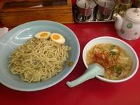 「期間限定 とんこつ塩麹つけ麺」@ラーメン山岡家 足利店の写真