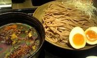 「冷やし柚子つけめん (全粒粉、大盛、冷や盛り)」@三ツ矢堂製麺 大森店の写真